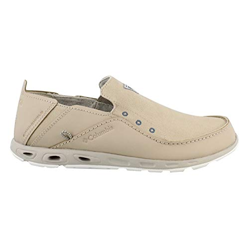 Columbia Men's, Bahama Vent PFG Slip On - Wide Width TAN 9 W by Columbia