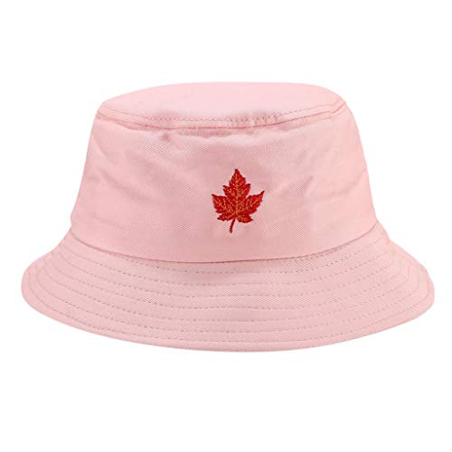 HYIRI on Foot Men Women Printing Wearing Visor Travel Folding Basin Fishing Hat Pink (Best Travel Articles On Prague)