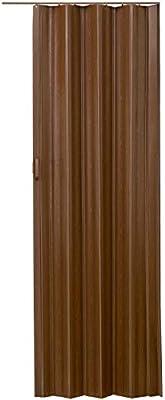 LD - Puerta corredera Plegable de PVC (80 x 203 cm): Amazon.es: Jardín