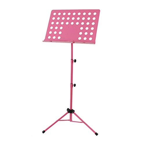 Nosterappou Soporte de música fuerte con soporte de carga plegable, audaz soporte para guitarra de violín audaz, cada...