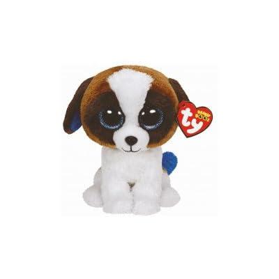 "Holland Plastics Original Brand TY Beanie Boos 6"" Duke Dog, Perfect Plush!: Toys & Games"