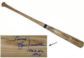 Lou Piniella signed Rawlings Adirondack Pro Big Stick Blonde Bat