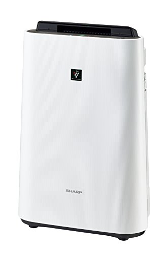 "SHARP PM2.5 corresponding humidified air cleaner white-based high density ""plasma cluster 7000"" with KC-E40-W"