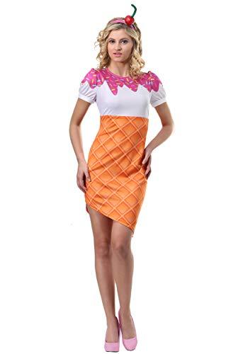 Women's Ice Cream Cone Costume X-Large ()
