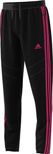adidas Tiro19 Youth Training Pants, Black/Real Magenta, Large - Tiro 11 Training Pant