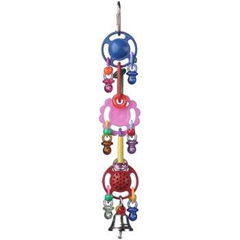 Small Super Bird Creations 9-1//2 by 2-Inch Tutti Frutti Bird Toy