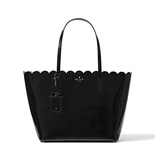 Kate Spade Lily Avenue Patent Carrigan (Black/Crisp