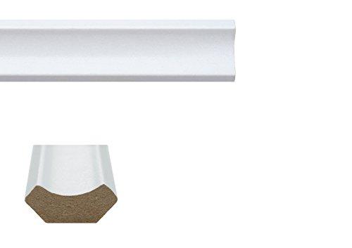 eXtreme Laminate Flooring Scotia Beading - White - 10 x 2.40m Length's Pack