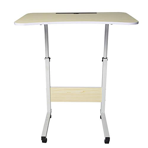 (Lookatool Simple Laptop Desk Bed with Desktop Home Removable Lazy Lift Bedside Table Desk Table Bedside Table Tables Computer Table Bed Table Tray Table overbed Table Tray Bed Trays for)