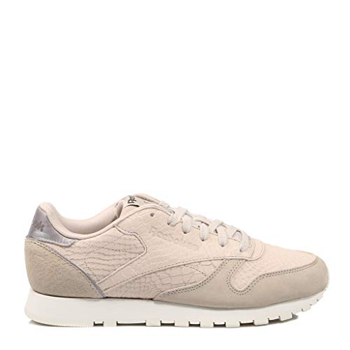 Chalk Reebok de Golden 000 Parchment Chaussures Coal Multicolore Femme Fitness Neutrals Cl LTHR ZxUrqwtPZ