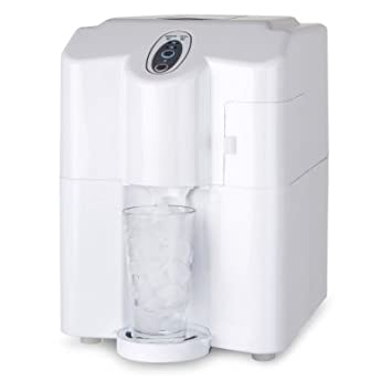 Haier HPIMD25W Portable/Counter Top Ice Maker, White