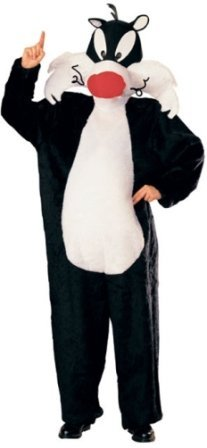 Looney Tunes Sylvester? the cat costume for adults. - One Size by (Adult Sylvester Costumes)