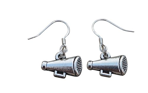 Infinity Collection Cheer Megaphone Earrings - Cheer Jewelry, for Cheerleaders, Cheer Teams, Cheer Moms and Cheer Coaches