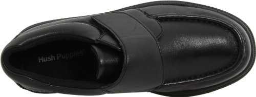 Hush Puppies Men's Gil Slip-On,Black,10.5 M US