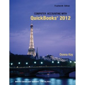 Computer Accounting with QuickBooks 2012