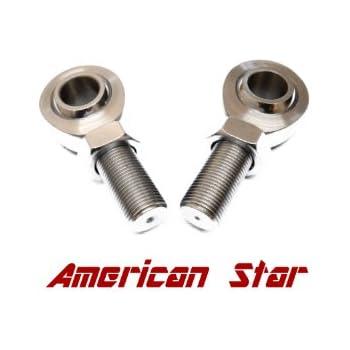 Allstar ALL52132 Steering Shaft Oversize Rod End Kit 0.757 for 3//4 Steering Shaft