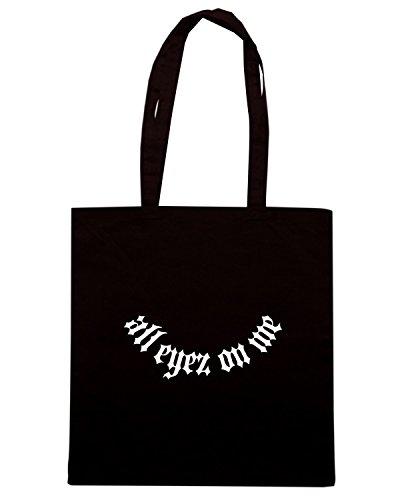 T-Shirtshock - Bolsa para la compra FUN0560 alleyez black Negro