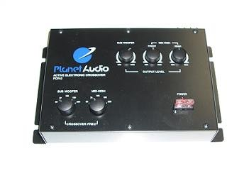 Planet Audio PCR2, 2-way Electronic Cross-Over