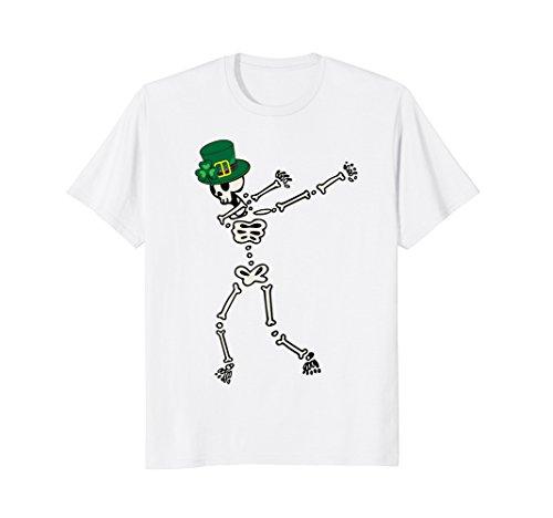 Dabbing Leprechaun Skeleton Shirt   Dab Hip Hop Skull - 247 Cat