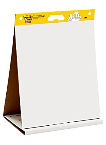 Post it super sticky tabletop easel pad 20 x 23 inches 20 sheets