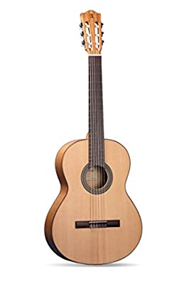Alhambra 6 String 2F-US Flamenco Student Guitar, Right Handed, Solid Canadian Cedar