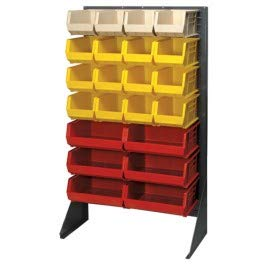 (Box Partners Floor Rack Bin Organizer, 36