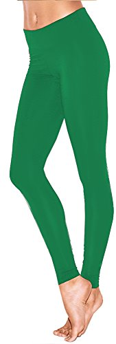 Lush Moda Extra Soft Leggings - Variety of Colors - Green