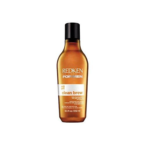 メディック反射ポータル男性きれいな醸造エクストラクレンジングシャンプー250用レッドケン x4 - Redken For Men Clean Brew Extra Cleansing Shampoo 250ml (Pack of 4) [並行輸入品]