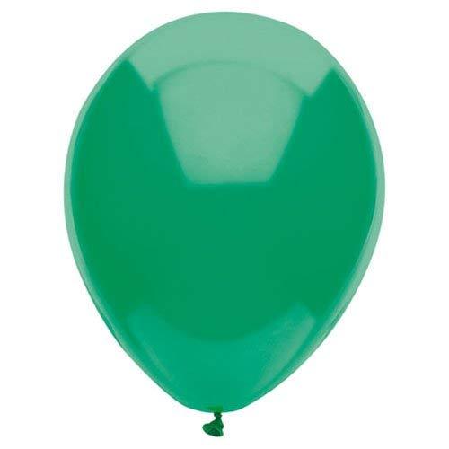 PartyMate Balloons Latex Balloons 076500 Deep Jade, 12