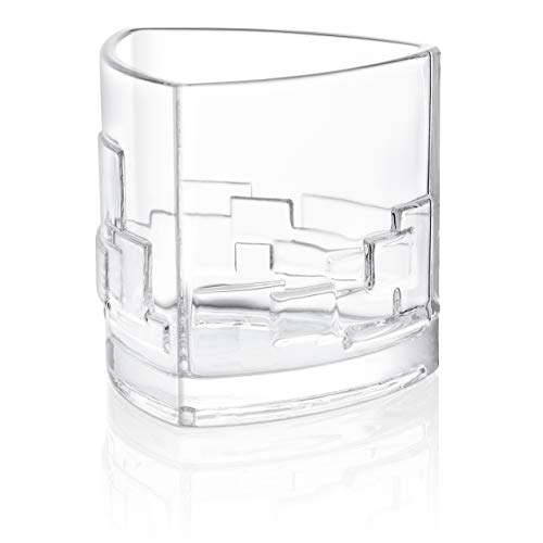 JoyJolt Revere Scotch Glasses, Old Fashioned Whiskey Glasses 11-Ounce, Ultra Clear Whiskey Glass for Bourbon and Liquor, Set Of 2 Glassware by JoyJolt (Image #8)