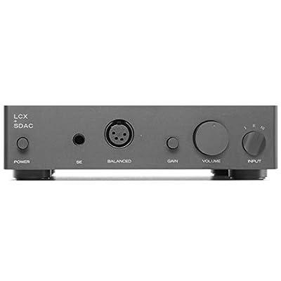Massdrop Liquid Carbon X + SDAC DAC/Amp - Solid-State, Fully Balanced, Bridged Desktop Headphone Amplifier and Grace Design Standard DAC (or SDAC)