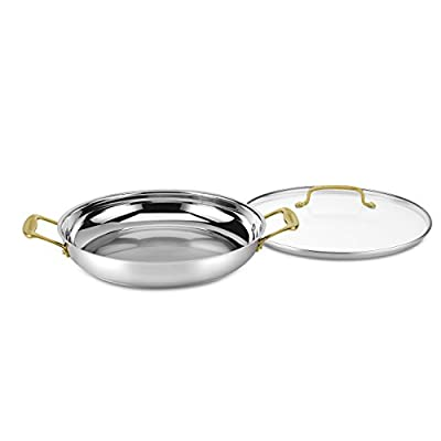 Cuisinart C7M25-30DGD Mineral Collection Everyday Pan, Medium, Stainless Steel