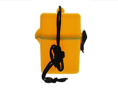 (VAS WATERPROOF DUST RESISTANT SPORTS DRY BOX CASE | ID HOLDER | CREDIT CARDS | LANYARD | MONEY | BADGE | CRUISE | TRAVEL | BEACH | POOL | BOATING)