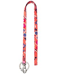 Vera Bradley Women's Lighten up Lanyard, Coral Meadow