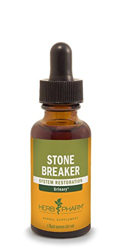 Treat Kidney Stones (Herb Pharm Stone Breaker (Chanca Piedra) Compound for Urinary System Support - 1 Ounce)