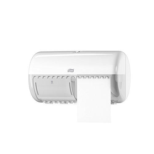 Tork 120776 - Pack de 30 rollos de papel higiénico x 400 hojas, 2 capas, color blanco: N: Amazon.es: Industria, empresas y ciencia