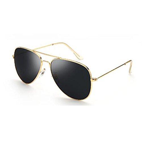 Blue black Gafas polarizadas Sol Silver Frame UV400 HLMMM Moolo Hombre de gray Color Dark Ojos Antideslumbrante Parejas Cara para para Protección Conductores frame Sol de UV Antideslumbrante Redonda Gafas Gold Mujer xzFwnzqg
