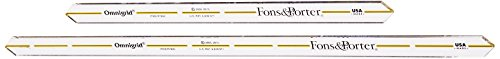 Fons and Porter Quarter Inch Seam Marker - Omnigrid Marking Ruler Trio Shopping Results
