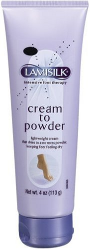 Lamisilk Cream To Powder, 4-Ounce Tubes (Pack of 3) by Lamisil