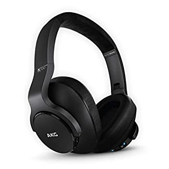 Image of AKG (A Samsung Brand) N700NC M2 Over-Ear Foldable Wireless Headphones, Active Noise Cancelling Headphones - Black (US Version) Over-Ear Headphones