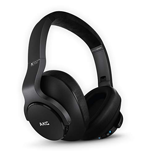AKG (A Samsung Brand) N700NC M2 Over-Ear Foldable Wireless Headphones, Active Noise Cancelling Headphones – Black (US Version)