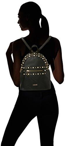 Liu-Jo Borsa Donna Zaino Honolulu Backpack in Ecopelle Nero MOD. A18065E0010