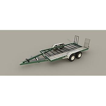 Car Hauler Trailer Plans Diy Homemade Open Auto Carrier Build Your