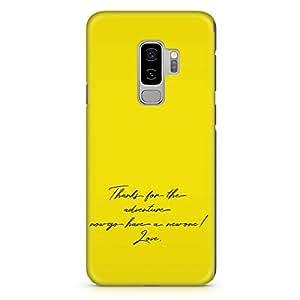 Loud Universe Love Quote movie Up Samsung S9 Plus Case Up The movie Poster Samsung S9 Plus Cover with 3d Wrap around Edges