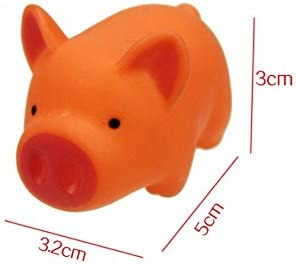 HuaQingPiJu-JP 5個の子供のラブリークリエイティブな豚のバスタブのバスルームのバスのセットウォータープレイのおもちゃ