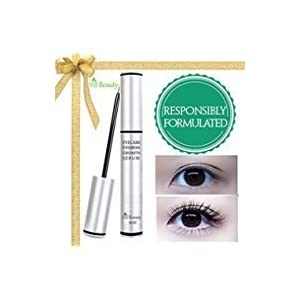 [2018 Premium] Large 6 ml Eyelash Growth Serum & Eyebrow Growth Serum - Enhancer Great For Eyelashes and Eyebrows Growing Thicker and Strengthener