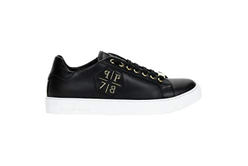 Scarpe Load Men's Shoes Black Sneaker gold Philipp Plein Uomo vXqTX1Og