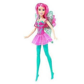 Mattel Fashion Fairy Barbie Doll Pink Hair