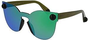 Sunglasses Christopher Kane CK0007S CK 0007 7S S 7 004 GREEN / GREEN / GREEN