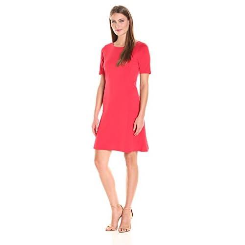 Nice Ellen Tracy Women's Elbow Sleeve Flounce Dress supplier
